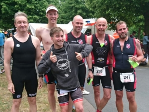 Wasserstadt Triathlon in Limmer 2018